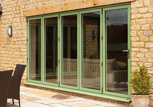 Double Glazed Bi fold doors